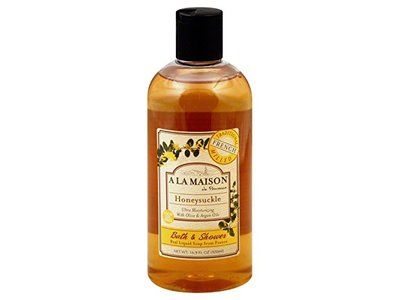 A La Maison Honeysuckle Shower Gel, 16.9 Ounce