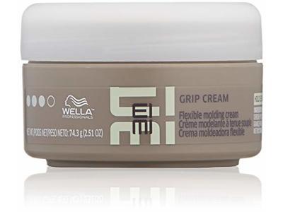 Wella EIMI Grip Cream, Soft, Flexible Hair Styling & Molding Cream, 2.51 oz