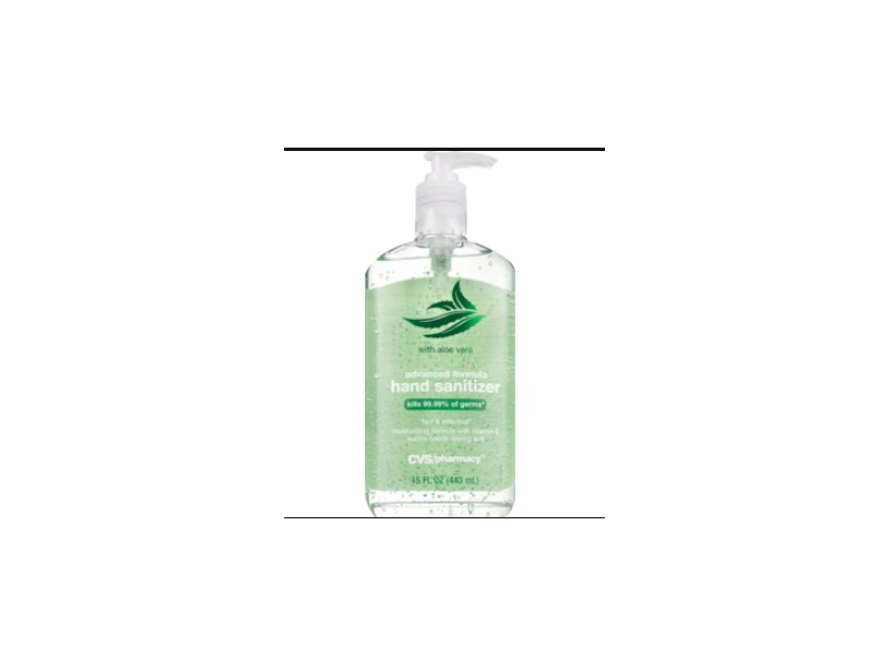 CVS Pharmacy Advanced Formula Hand Sanitizer With Aloe