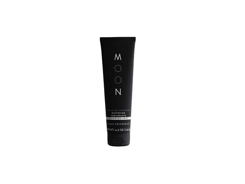 Moon Whitening Activated Charcoal Toothpaste, Fluoride-Free, Lunar Peppermint, 4.2 oz /119 g