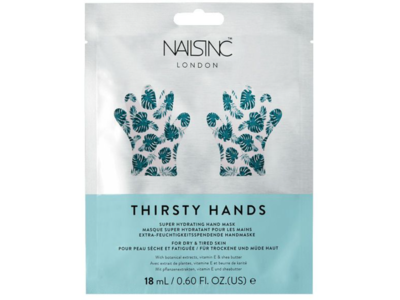 Nailsinc Thirsty Hands Super Hydrating Hand Mask, 18 mL