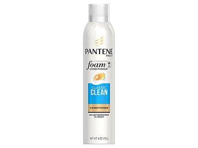 Pantene Pro-V Classic Clean Foam Conditioner, 6 oz