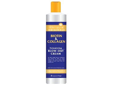 Renpure Biotin and Collagen Volumizing Blow Out Cream, 6 Ounce