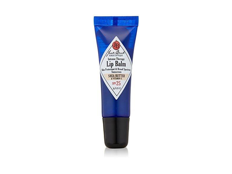 Jack Black Intense Therapy Lip Balm SPF 25, Shea Butter & Vitamin E, 0.25oz