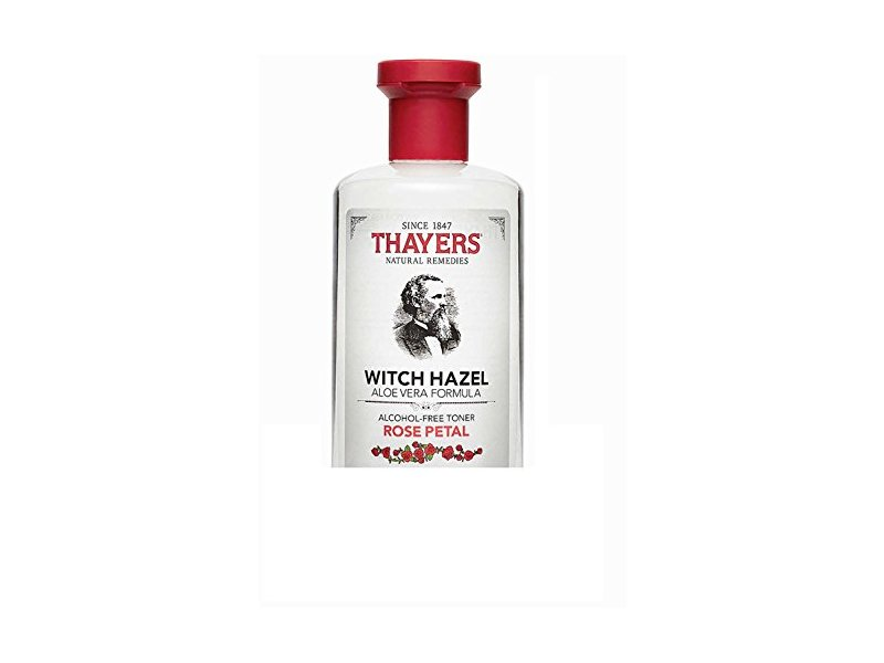 Thayers Alcohol-free Rose Petal Witch Hazel with Aloe Vera, 3 Ounces