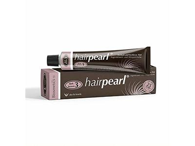 Hairpearl Intensive Cream Hair Dye - Dark Brown - 0.68 oz