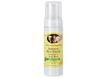 Earth Mama Angel Baby Shampoo Body Wash, Unscented, 5.3 fl oz