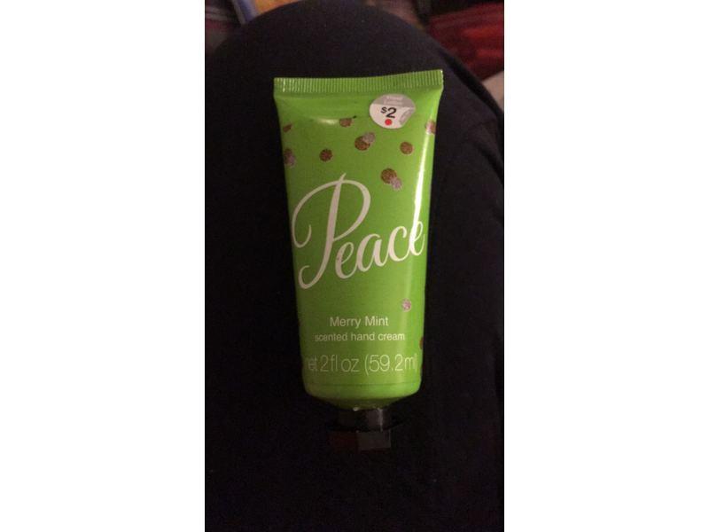 Groovi Beauty Hand Cream, Peace Merry Mint, 2 fl oz