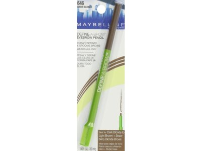 Maybelline New York Define-A-Brow Eyebrow Pencil, Dark Blonde, .5 mg - Image 5
