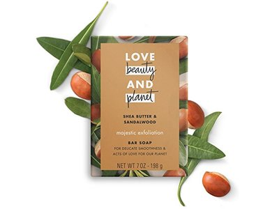 Love Beauty And Planet Bar Soap, Shea Butter & Sandalwood, 7 oz