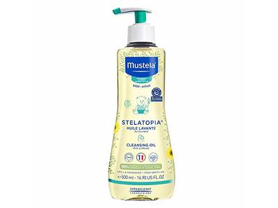 Mustela Stelatopia Cleansing Oil, 16.9 fl oz/500 mL