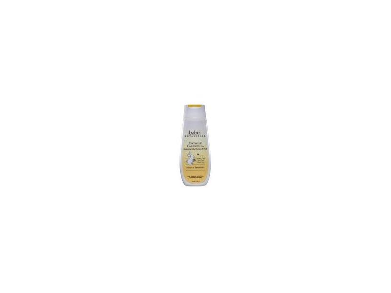 Babo Botanicals Oatmilk Calendula Moisturizing Baby Shampoo and Wash, 8 fl oz