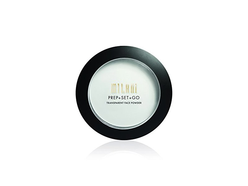 Milani Prep + Set + Go Transparent Setting Face Powder, Transparent, 0.24 Ounce