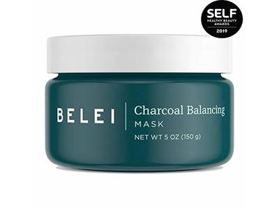Belei Charcoal Balancing Mask, Fragrance Free, Paraben Free, 5 Ounce (150 g)