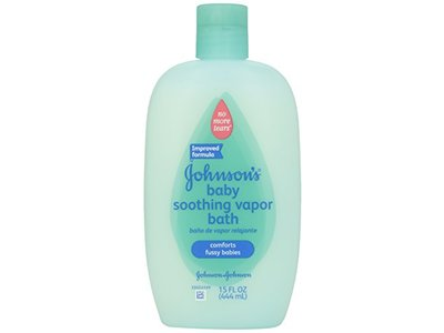 Johnson's Baby Soothing Vapor Bath. 15 fl oz