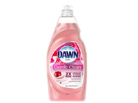 Dawn Ultra Gentle Clean Dishwashing Liquid Dish Soap, Pomegranate & Rose Water Scent, 24 fl oz - Image 2