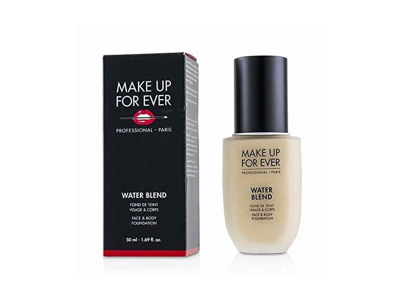Make Up For Ever Water Blend Face & Body Foundation, Marble (Y225), 50 mL