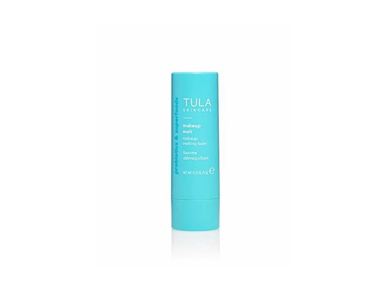 TULA Probiotic Skin Care Makeup Melt Makeup Removing Balm, .32 oz