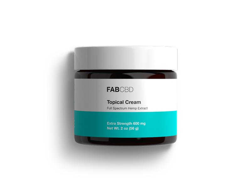Fab CBD Topical Cream, Extra Strength, 2 oz