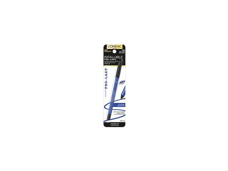 L'Oreal Paris Infallible Pro-Last Waterproof Pencil Eyeliner, Cobalt Blue, 0.042 oz/1.2 g