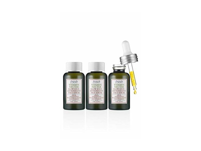 fresh Vitamin Nectar Glow Juice Antioxidant Face Serum. .5 fl oz