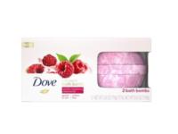 Dove Milk Swirls Bath Bombs, Vanilla Raspberry Creamsicle - Image 2