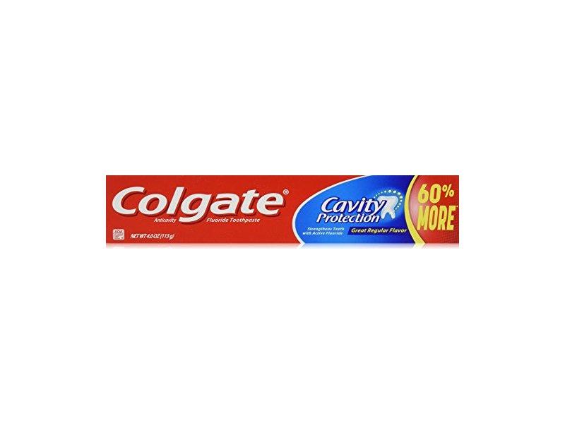 Colgate Cavity Protection Toothpaste, 4.0 oz