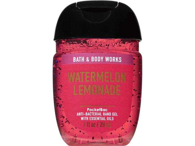 Bath & Body Works PoketBac Anti-Bacterial Hand Gel, Watermelon Lemonade, 1 fl oz/29 mL
