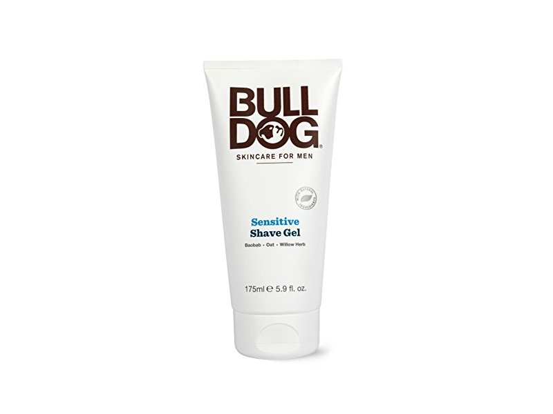 Bull Dog Skincare For Men Shave Gel, Sensitive, 5.9 fl oz