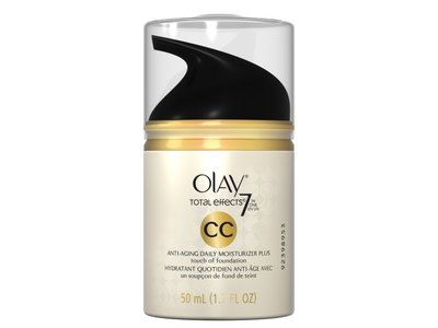 Olay CC Cream Total Effects Daily Moisturizer plus Touch of Foundation, 1.7 fl. Oz., Packaging May Vary - Image 7