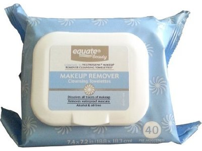 Equate Makeup Remover Cleansing Towelettes, 40 ct - Image 1