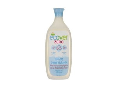 Ecover Dish Soap Liquid Zero, Fragrance Free, 25 Fluid Ounce - Image 1