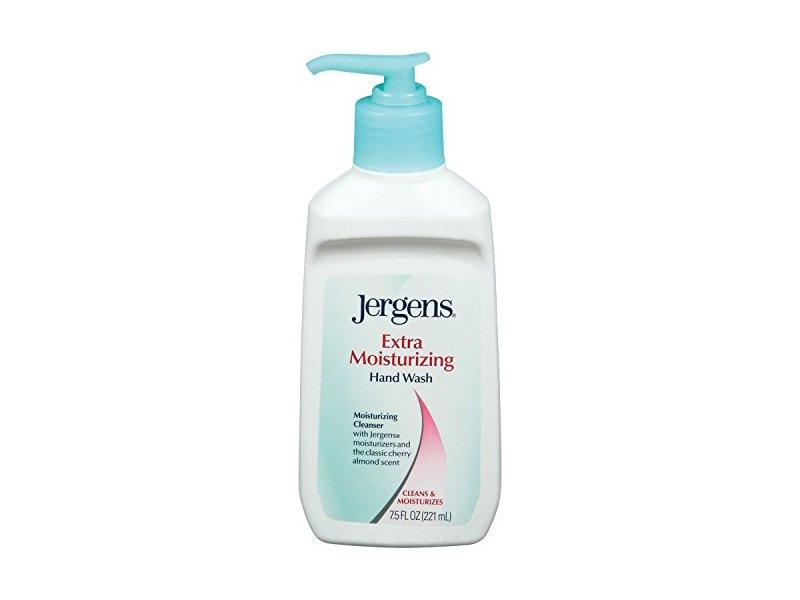 Jergens Extra Moisturizing Hand Wash, Cherry-Almond, 7.5 fl oz
