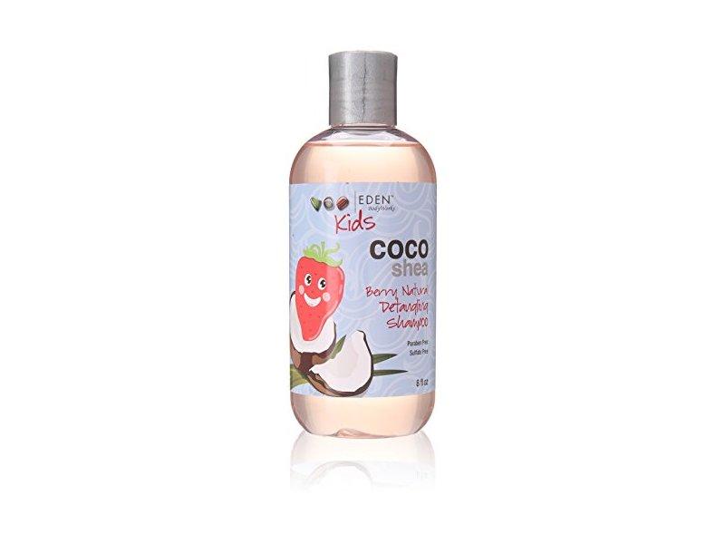 Eden BodyWorks Coco Shea Berry Detangling Shampoo, 8 Ounce