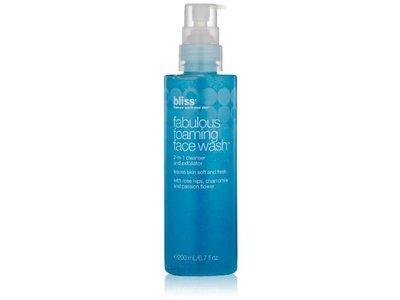 bliss Fabulous Foaming Face Wash, 6.7 fl. oz. - Image 1