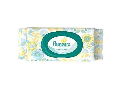 Pampers Sensitive Wipes Travel Pack, 56 Count