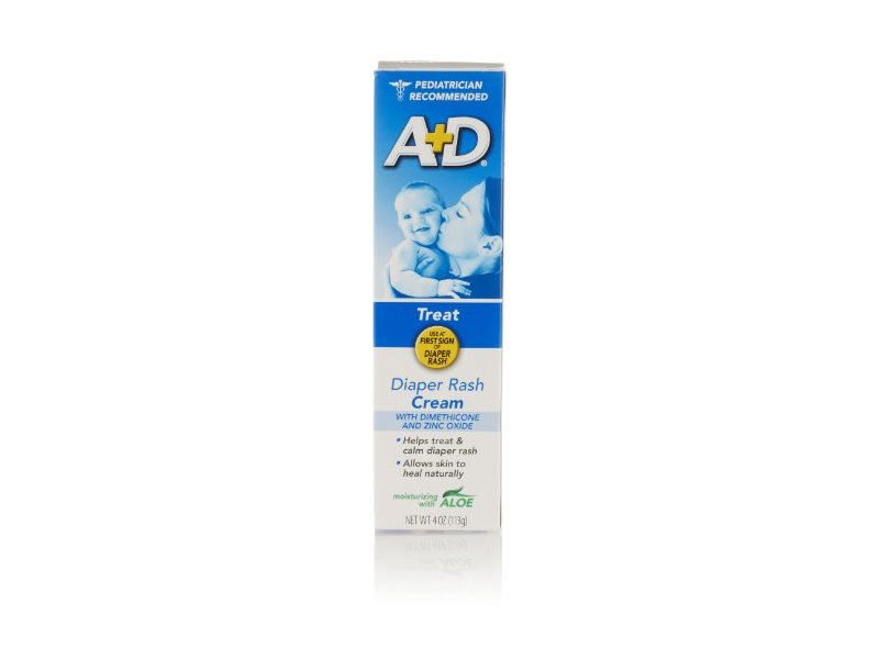 A+D Diaper Rash Cream, 4 Oz