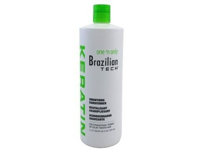 One 'N Only Brazilian Tech Keratin Smoothing Conditioner, 33.8 oz.