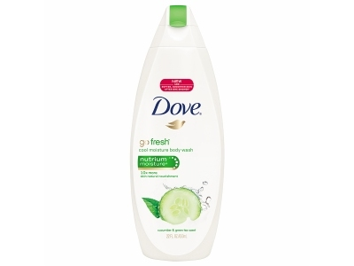 Dove Go Fresh Cool Moisture Body Wash With Nutrium Moisture, Cucumber & Green Tea - Image 1