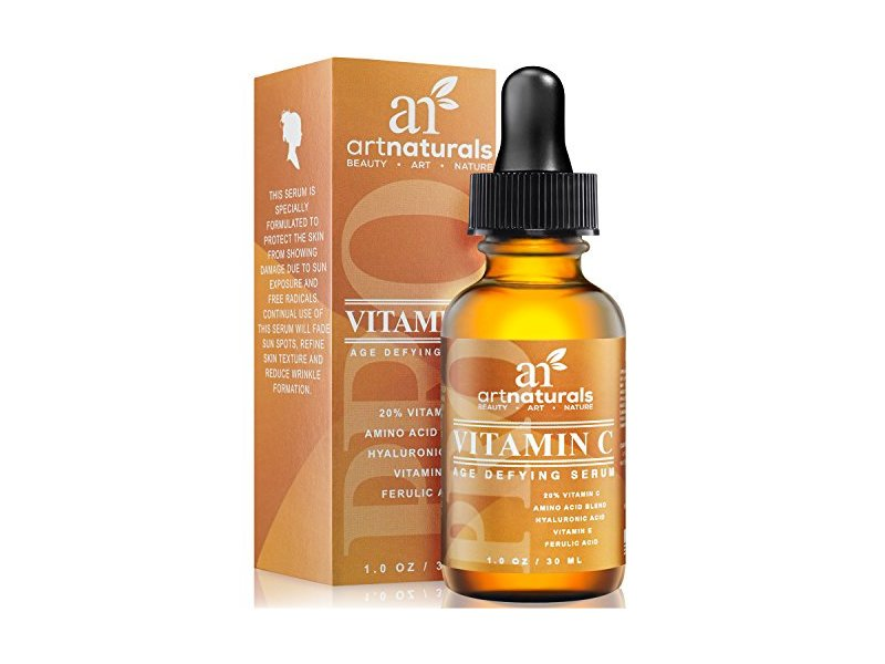 ArtNaturals Enhanced Vitamin C Serum with Hyaluronic Acid