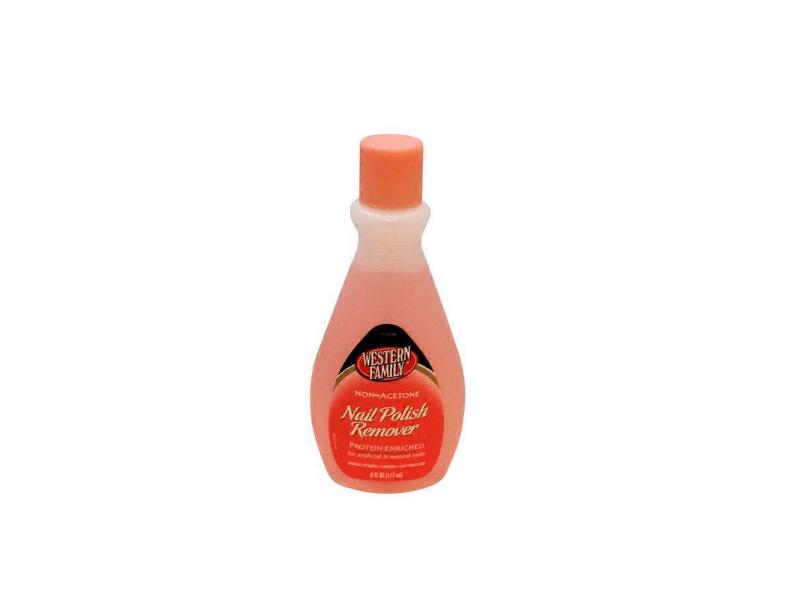Western Family Regular Nail Polish Remover, 6 fl oz (1.77 mL)