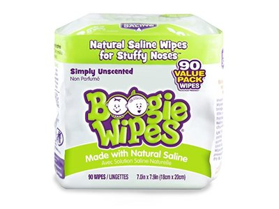 Boogie Wipes, 30 count 3-pack