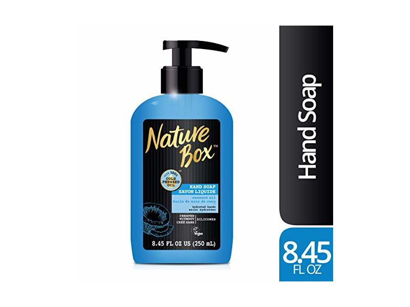 Nature Box Liquid Hand Soap, Coconut Oil, 8.45 fl oz