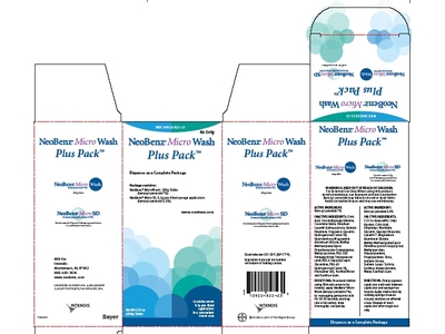 NeoBenz Micro 7% Wash Plus Pack (RX) Box of 7, Bayer Healthcare - Image 1