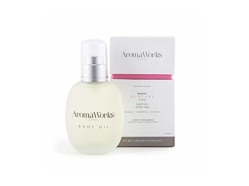 Aromaworks Nurture Oil for Body, 3.4 Ounces