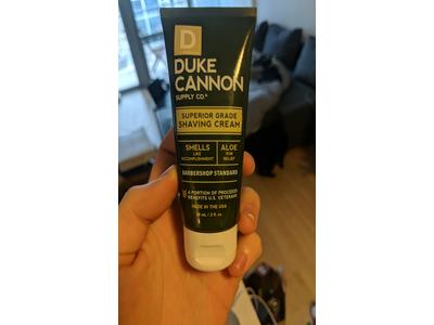 Duke Cannon Men's Superior Grade Shaving Cream, Travel Size 2 oz - Image 4