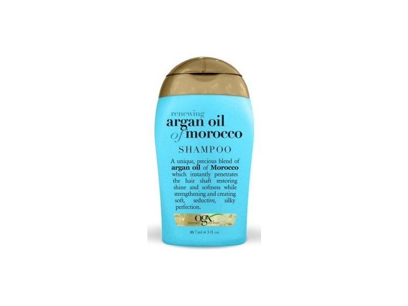 Ogx Shampoo, Renewing + Argan Oil Of Moroccan, 3 fl oz/88.7 ml