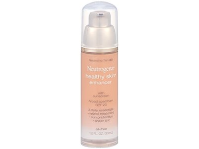 Neutrogena Healthy Skin Enhancer Broad Spectrum SPF 20, Johnson & Johnson - Image 5