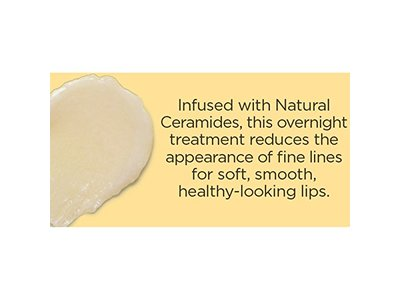 Burt's Bees 100% Natural Overnight Intensive Lip Treatment, Ultra-Conditioning Lip Care, 0.25 ounce - Image 4