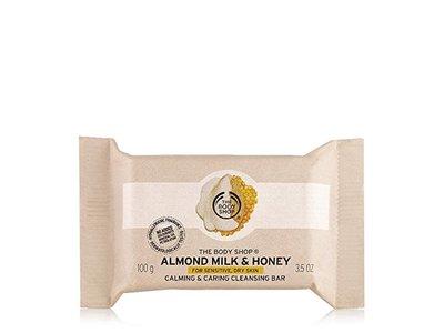 The Body Shop Almond Milk & Honey Cleansing Bar, 3.5 oz